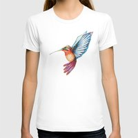 hummingbird T-shirts featuring Hummingbird by Alejandra Lara
