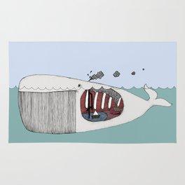 I valfiskens mage Rug