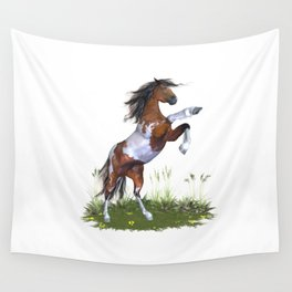 Rearing Horse Wall Tapestry