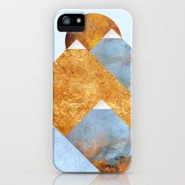 Modern Mountain No5-P2 iPhone Case
