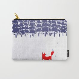 Alone in the forest Carry-All Pouch