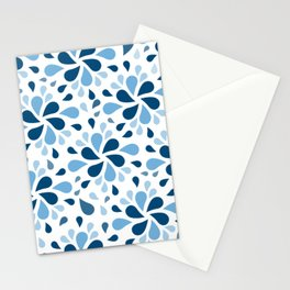 Blue Mediterranean Summer Stationery Cards