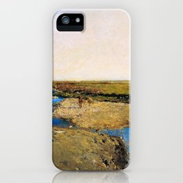 North African Landscape - Digital Remastered Edition iPhone Case
