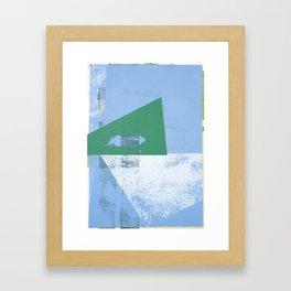 Undersnow Framed Art Print