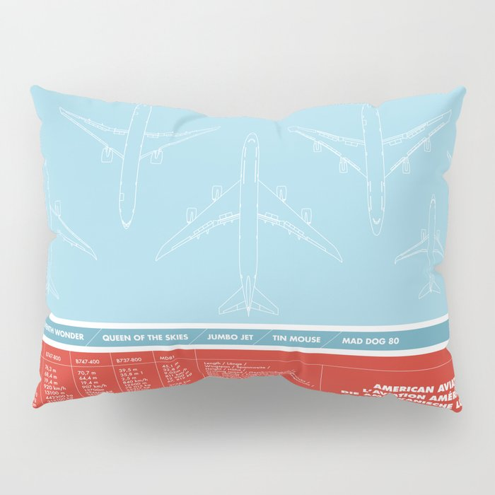 America aviation Pillow Sham