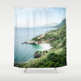 Beach - Landscape and Nature Photography Shower Curtain