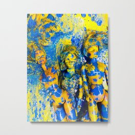 Doll Collective Metal Print