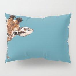 Sneaky Giraffe Pillow Sham