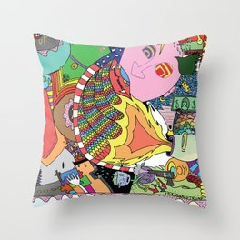 Is This A Foot? Throw Pillow