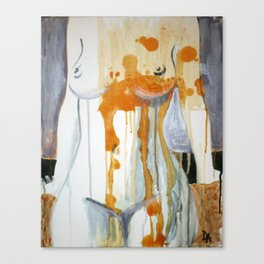 flesh Canvas Print