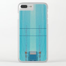 Glassy Buildings of San Francisco Clear iPhone Case
