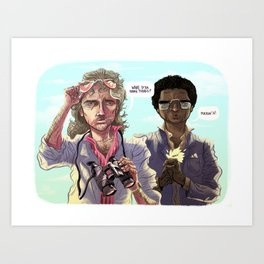 Miami Vice Art Print