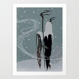 Mountain Bearer Art Print