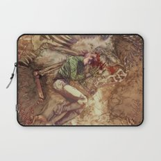 Scary Monster Laptop Sleeve