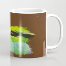 Green Magpie Coffee Mug