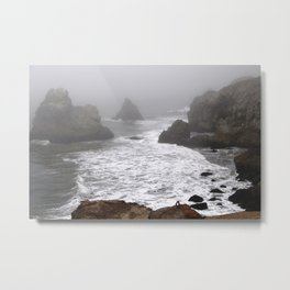 Sutro Baths, California Metal Print
