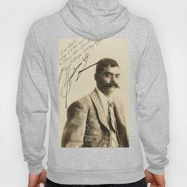Emiliano Zapata with Signature, c.1915 Hoody