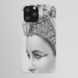 Elizabeth Taylor Cleopatra Portrait iPhone Case