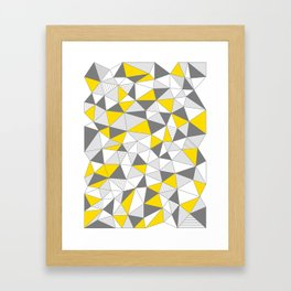 pattern-T Framed Art Print