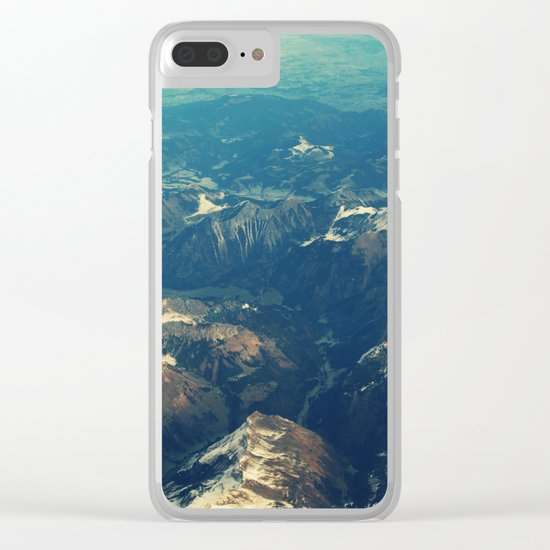earthy m Clear iPhone Case