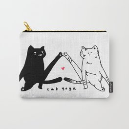 cat yoga Carry-All Pouch