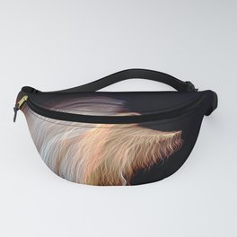 Abstract Angel Ghost Fanny Pack