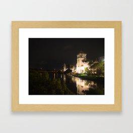 Night Time River Framed Art Print