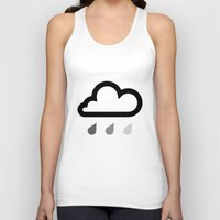 cloud Tank Tops featuring Cloud :) by Etiquette