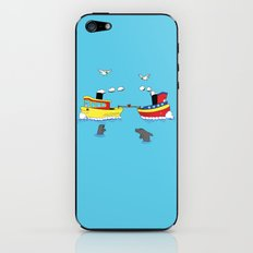 TUG BOAT OF WAR iPhone & iPod Skin