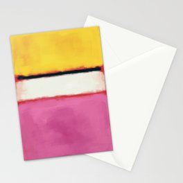Rothko Inspired #24 Stationery Cards