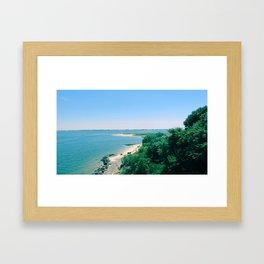 To Far Rockaway Framed Art Print