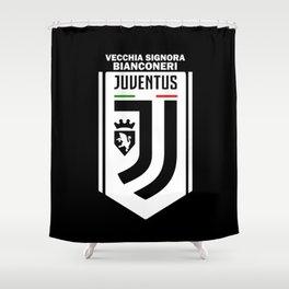 Slogan: Juve Shower Curtain