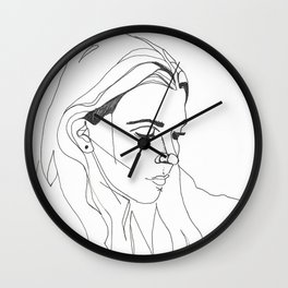 KING LYNN GUNN / PVRIS Wall Clock