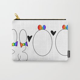 Genetically Gay Carry-All Pouch