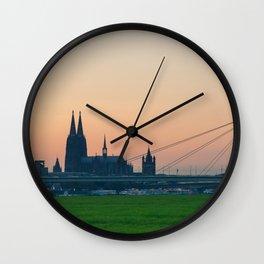 COLOGNE 15 Wall Clock