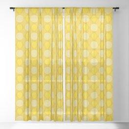 Lemon Zest Sheer Curtain