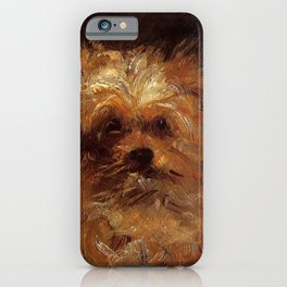 "Édouard Manet ""Bob, Chien Griffon"" iPhone Case"