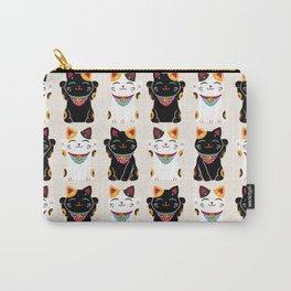 Maneki Neko - Lucky Cats Carry-All Pouch
