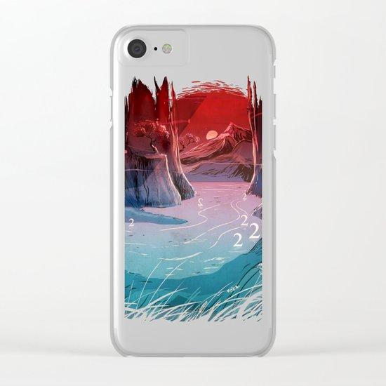 2wan Lake Clear iPhone Case