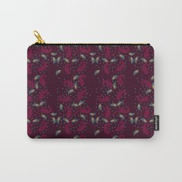 Manga design with magenta vines Carry-All Pouch