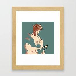 Edith Wharton Framed Art Print