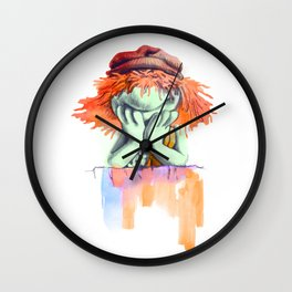 Don't be a party Boober Wall Clock