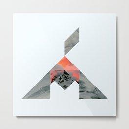 Volcano Metal Print