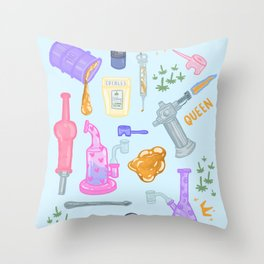 Dab Queen Essentials - L Throw Pillow