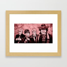 Doctor Who - One, Two, Three and Four Framed Art Print