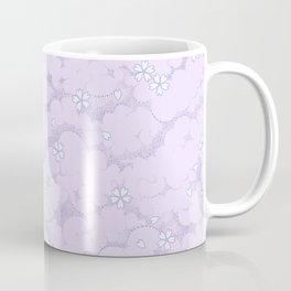 Kumori Nochi Sakura: Purple Coffee Mug