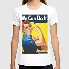 Rosie The Riveter Vintage Women Empower Women's Rights Sexual Harassment T-shirt