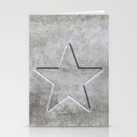 solid Stationery Cards featuring Solid Star by LebensART