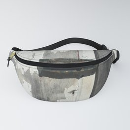 Vintage Latch on Weathered Wood Fanny Pack