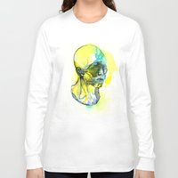 dna Long Sleeve T-shirts featuring DNA by Chen Li